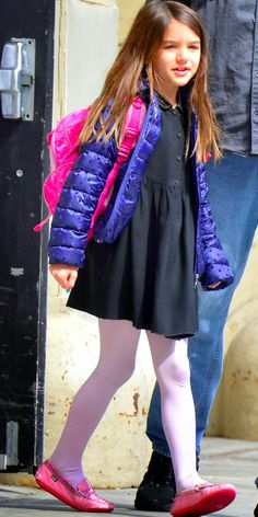 Suri Cruise Fashion Blog: May 2014: Suri leaves school on Monday