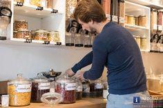 'Das Gramm' - Der erste Lebensmittelladen ohne Verpackungen oder überschüssige umweltverschmutzende Materialen in Graz. - 056 Material, Graz, Foods, Packaging