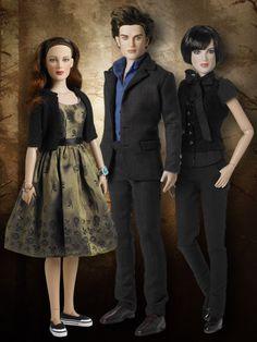 Twilight: New Moon Set Bella, Edward & Alice