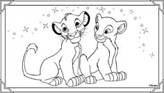 The Lion King color page, disney coloring pages, color plate, coloring sheet,printable coloring picture