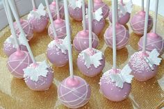 All About the Pink Cake Pops