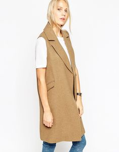 ASOS Sleeveless Coat