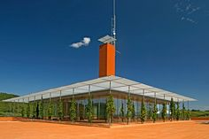 Designed by Pritzker Prize winner Renzo Piano, Tuscany's Rocca di Frassinello opened in 2007 - The Best Vineyard Designed by Starchitects Photos Caves, Renzo Piano, Property Design, Showcase Design, Architectural Digest, Architecture Design, Vineyard, Around The Worlds, Building