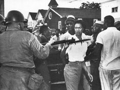 Gloria Richardson is one of the many women in Black history that have earned their stripes by being fearless in the face of danger. One of the most famous pictures of her is a black and white photo featuring Gloria pushing a bayonet out of her face. It has stood the test of time, and shows that even
