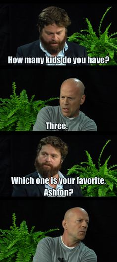 Between Two Ferns is a Masterpiece. - Imgur