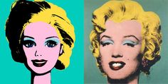 Love Barbie. Love Warhol. Perfect combo.