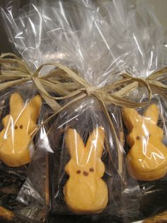 Peep s'mores; holiday or other party favors