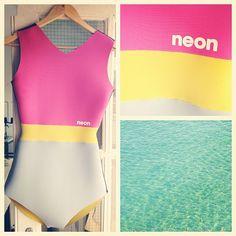 Neon wetsuit
