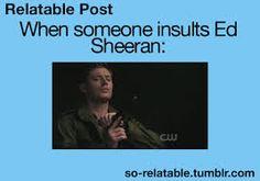 ed sheeran funny - Google Search two things i love : Ed Sheeran and Supernatural :)