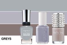 Winter Nail Polish Trends for 2012-greys.