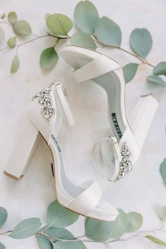 Stunning bridal shoes from a sweet and simplified wedding due to a necessary pivot. Photography: Ashlyn Murphy Photo Post Wedding, Chic Wedding, Wedding Shoes, Wedding Events, Green Wedding, Wedding Attire, Elegant Wedding, Wedding Stuff, Engagement Rings Princess