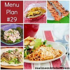She provides a weekly menu of recipes, and you simply click to print a shopping list. Recipes look yummy and not too challenging.