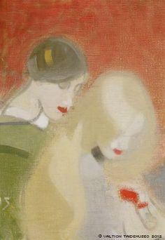 Helene Schjerfbeck, The Family Heirloom, 1915-1916