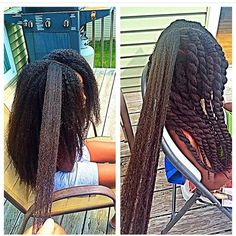 Beautiful healthy hair!