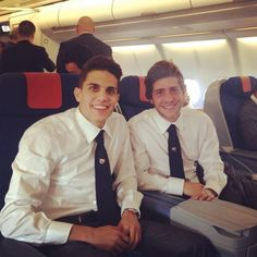 Marc Bartra & Sergi Roberto