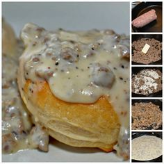 Sausage Gravy and Biscuits – Yumi recipes
