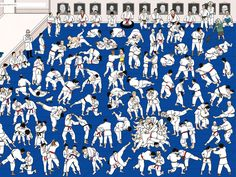 Where's Warhol judo