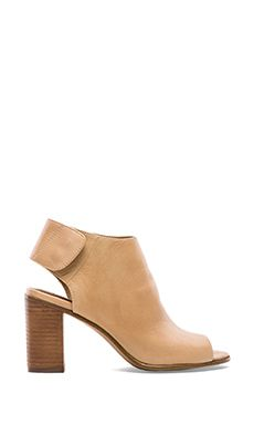 Steve Madden Nonstop Bootie in Natural Leather | Gorgeous!