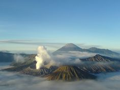Wonderful Bromo Mountain