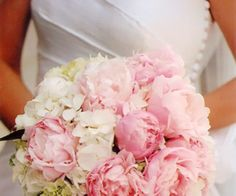 Peony and Hydrangea bouqet Pollon Flowers