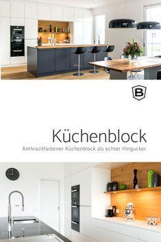 BEER Küchen.Manufaktur | Der Große Küchenblock Ist Das Highlight In Dieser  Küche. #