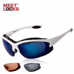 #ShipFromUsa #BestPrice #Fashion MEETLOCKS Cycling Glasses Sports Sunglasses Eye Goggles Bike Anti-Fog Lens UV 400 Eyewear For Outdoor…