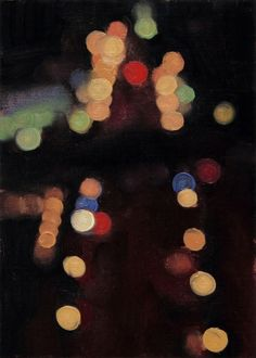 Citylights No.70, painting by artist Stephen magsig