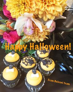 cool vancouver florist Happy and safe Halloween everyone!!!! Thanks to Christine Moon @lamacaronette for fun and yummy treats for us! #Halloween #cupcakes #vacouverflowers #fallcolors by @balconifloral  #vancouverflorist #vancouverflorist #vancouverwedding #vancouverweddingdosanddonts