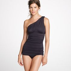 GORGEOUS J.Crew swimsuit, new for 2012:  not sure how the hips would look on a curvy girl, but still lovely!