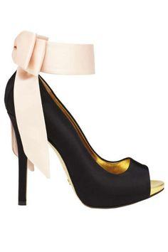 Kate Spade Grande Satin Bow Heel - Fall 2013