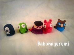 Crochet Kinder egg figure - free pattern