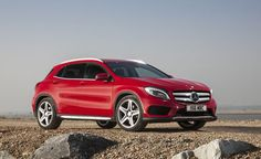 The Mercedes GLA crossover