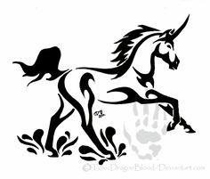 Unicorn Tattoos, Designs And Ideas : Page 12