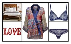 """""""Sophia - Night at home"""" by miriam83 ❤ liked on Polyvore featuring West Elm, La Perla and Etro"""