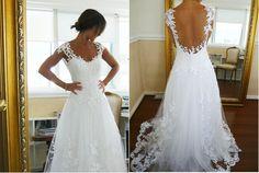 Nem quero casar vestida de noiva, mas com este vestido, até mudo de ideia...:-)