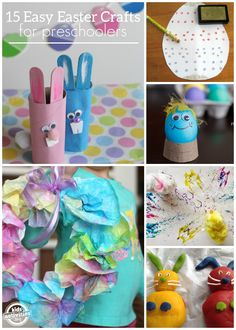 15 {Easy} Easter Crafts for Preschoolers - Kids Activities Blog