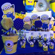 Awesome and cool Minions Party!!! | CatchMyParty.com