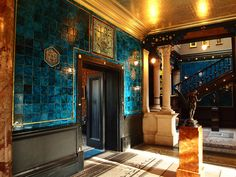 The Arab Hall, Leighton House Museum.Aesthetic Movement was part of the Victorian Age which was a time when there were many different movements within this period.