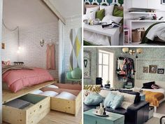 20 Tiny Bedroom Hacks Help You Make the Most of Your Space
