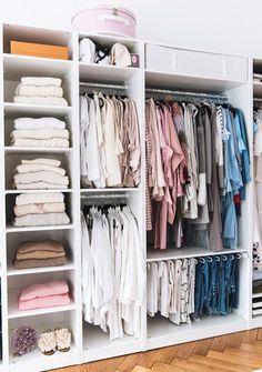 Inspiração Closets