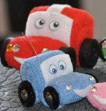 How to Make Washcloth Cars on the Go | Diaper Cake Patterns