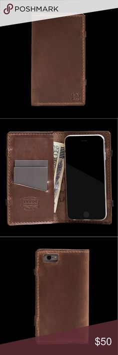 FREE PEOPLE X OROX LEATHER CO UTILIS IPHONE 8 CASE FREE PEOPLE X OROX LEATHER CO. UTILIS IPHONE 7/8 CASE - NATURAL MSRP $75 The Utilis Classic keeps you organized (with space for cards and cash), protects your phone, and even has rubber feet that grip any surface so you can stand it on its side to watch videos or take a video call.  * Chromexcel leather * Up to 20 cards and cash * Durable and protective thermoplastic polyurethane (TPU) case * Phone case fits both iPhone 7 & 8 * Phone Case…