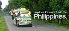 JOYRIDES. More FUN in the Philippines!