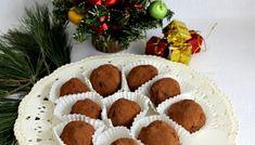 Prajitura cartof cu merisoare si portocale Gingerbread Cookies, Waffles, Christmas Wreaths, Muffin, Food And Drink, Holiday Decor, Breakfast, Desserts, Recipes