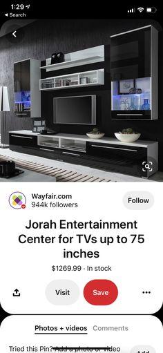House Furniture Design, Home Furniture, Entertainment Center, Kitchen Appliances, Future, Diy Kitchen Appliances, Entertainment Centers, Home Appliances, Future Tense
