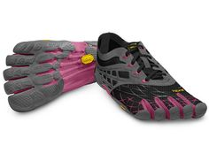 I really want these. They look so comfortable, and I don't love anything more than walking barefoot. (Vibram FiveFingers - SeeYa LS)