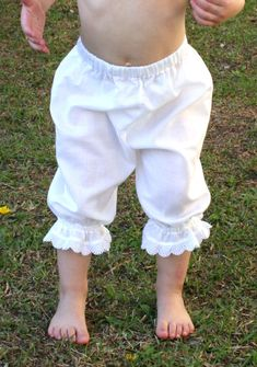 Girls Pantaloons tutorial - I would like to make some to go under dresses for my little girls. They are not very lady like