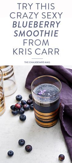 We're taking a peek inside Guest Editor Kris Carr's new book, Crazy Sexy Juice + blending up a crazy sexy smoothie from its pages!
