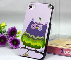 owl on branch case covers for iphone