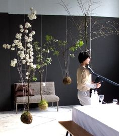 Idea how to bring nature into house